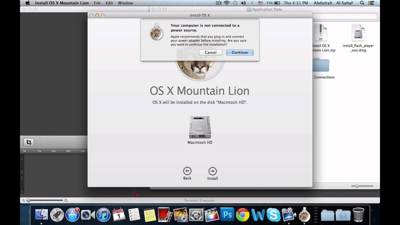 windows media player mac os x mountain lion