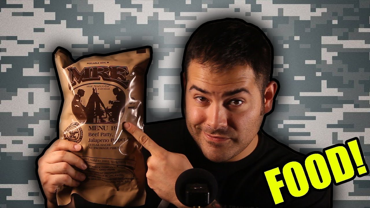 What's Inside an MRE? (Meal, Ready to Eat)