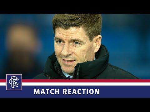 REACTION | Steven Gerrard | Rangers 4-0 Dundee