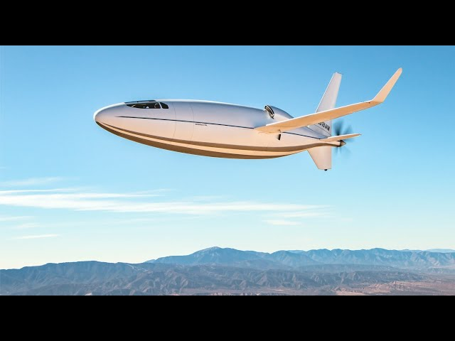 The CELERA 500L Bullet Plane Powered by The RED A03 Engine - Game Changing Technologies Combined