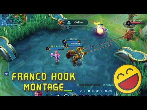 Franco Hook Montage Ep1|wtf  - Mobile Legends | Skin Giveaway In Description 👇