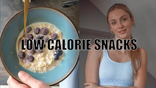 5 Quick & Easy LOW CALORIE SNACKS Ideas // HEALTHY SNACKS // Joëlle Denice