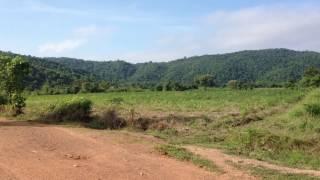 Landscape of mountain, rural road, forest, ទេសភាព ភ្នំ ផ្លូវលំ ព្រៃ