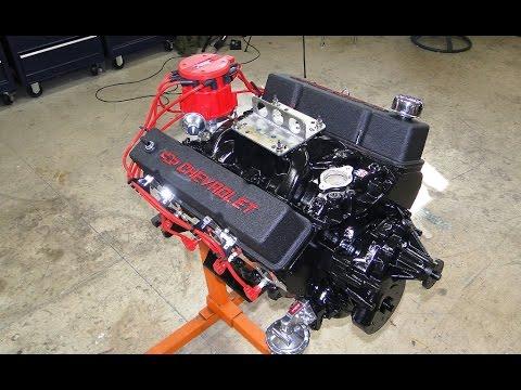 Engine Building Part 11 - Engine Painting