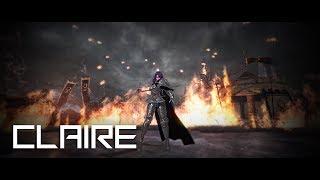 vindictus - Sword Lann Inquisitor Claire solo play / 검시타 클레르 솔로