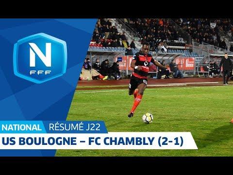 J22   US Boulogne CO – FC Chambly Oise 2 1, le résumé
