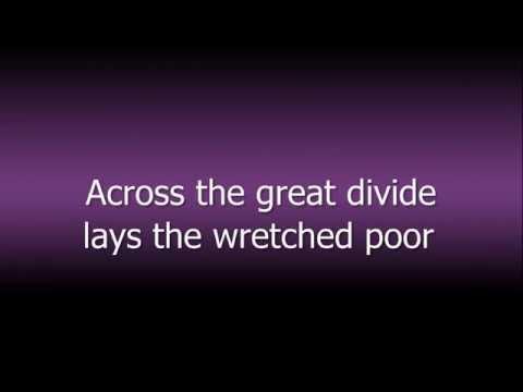 Anti Flag - The Great Divide (lyrics)