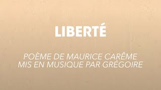 Grégoire - LIBERTÉ
