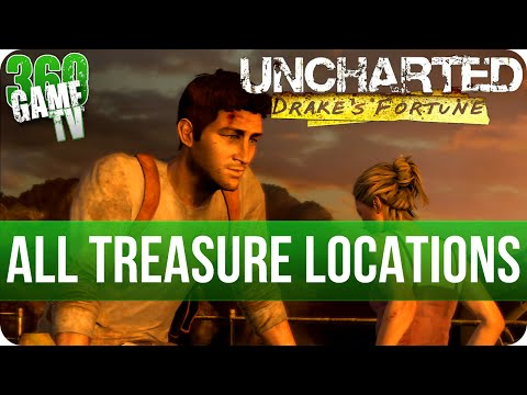 Uncharted Drake's Fortune - All Treasure Locations (Collectibles Guide - All Collectibles Trophies)