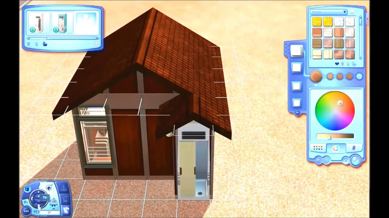 Building Tiny House In The Sims 3 Youtube
