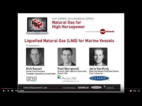 LNG for Marine Vessels - HHP Summit 2014 Webinar #2