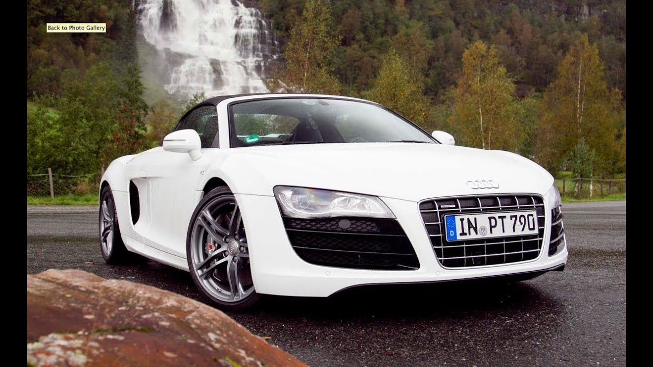 Viking Routes - 2011 Audi R8 Spyder Tackles Norway's Atlantic Road