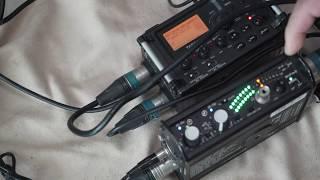 Mixpre-D를 DR-60D, DR-40, DR-680에 연결하여 녹음하는 법