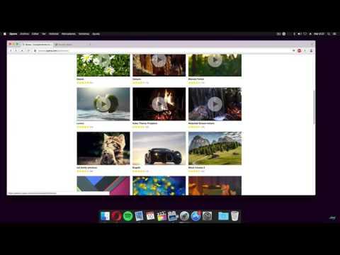 Opera Web Browser - Animated Themes