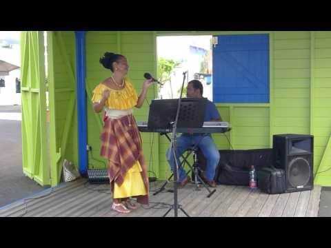 Local Singer in Guadeloupe - 2014