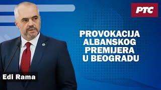 Provokacija albanskog premijera u Beogradu