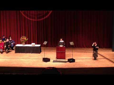 University of Minnesota HHH School of Public Affairs Commencement 2015 - George W. F. Shardlow MPP