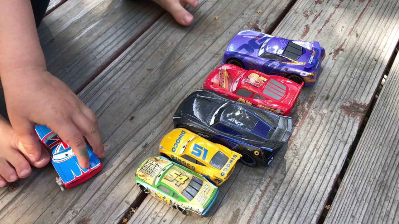 Cars 1 And 2 Toys : Disney pixar cars and toys together youtube