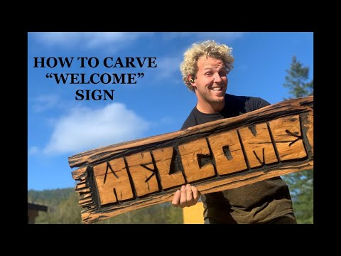 CARVING SIGNS  & Letters MADE EASY & FAST to Make more CASH !!!  tutorial
