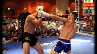 USA vs ITALY : Muay Thai - Pure Adrenaline !