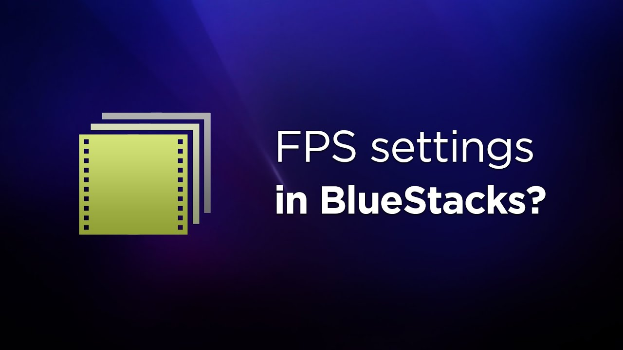 Introducing custom FPS (frames per second) feature on