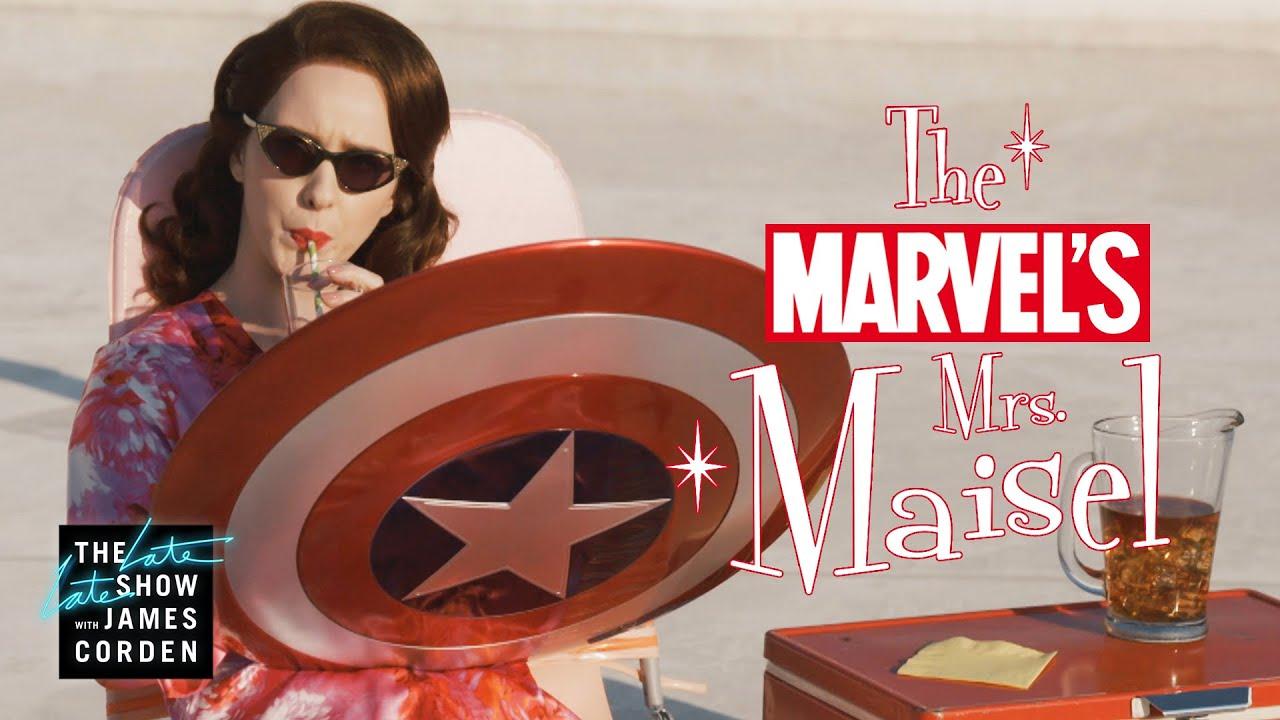Marvel's Mrs. Maisel: Rachel Brosnahan Enters the Marvel Universe