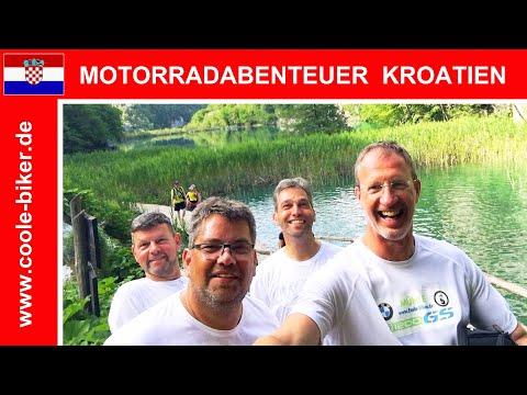 🇭🇷 Motorradabenteuer Kroatien - Eine Reisedokumentation - HD - Motorradtour Coole-Biker