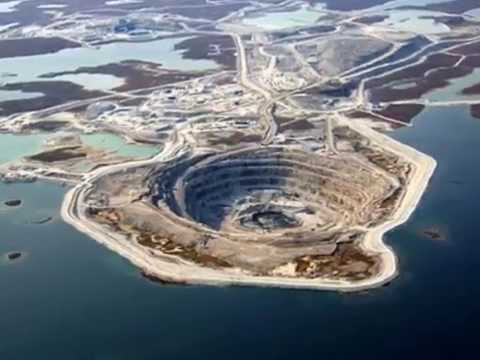 Mirny Diamond Mine   Eastern Siberia, Russia