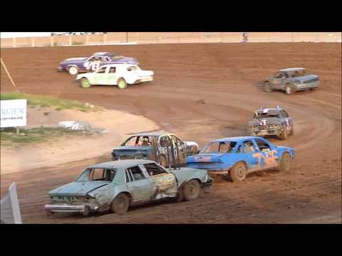 Hibbing Raceway ENDURO -Start of Race--September 15, 2015