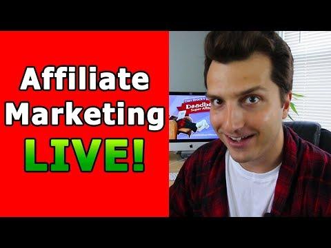 Affiliate Marketing Tips  (First LIVE Stream) + New Deadbeat Stuff!