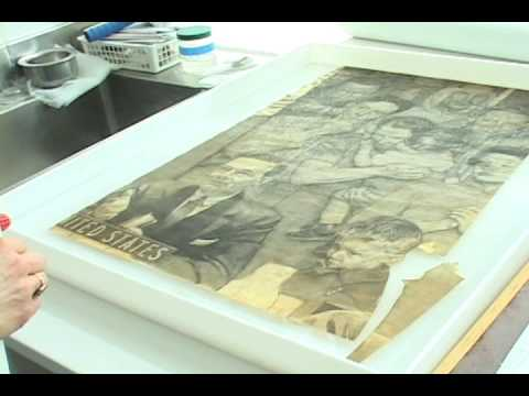Conserving Norman Rockwell's