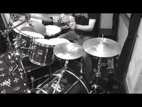 Thrashbaath on drums