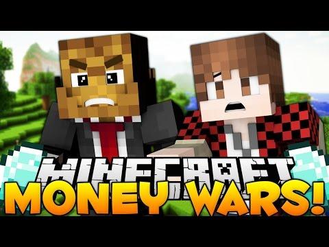 "Minecraft Money Wars ""HACKER?"" #14 w/ BajanCanadian"