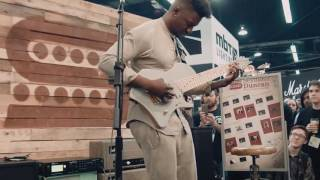 Video Tosin Abasi  'The Woven Web' Seymour Duncan NAMM 2016 download MP3, 3GP, MP4, WEBM, AVI, FLV Juli 2018