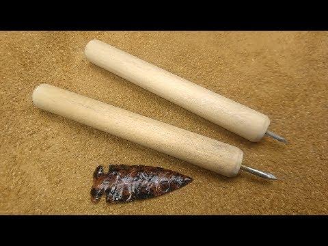 How to Make a Steel Nail Pressure Flaker for Flintknapping - Beginner Tool Kit