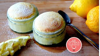 Easy Lemon Souffle Recipe - Лимонное суфле