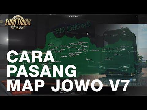 Terbaru...!!!Cara Pasang Map Jowo V7.2   ETS2 1.30