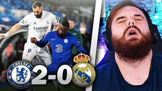 REACCIONANDO al REAL MADRID 0-2 CHELSEA... MADRIDISTA HUMILLADO Y DESESPERADO