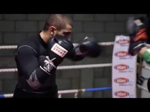 BOXE - Training Of Alex Miskirtchian EBU Champion (HD)