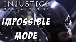 Repeat youtube video Injustice: Gods among us - Batman - Impossible mode - NO MATCHES LOST!