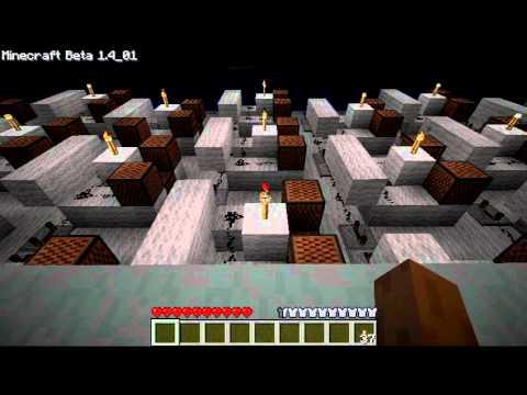 Minecraft - Elfen Lied Lilium with noteblocks