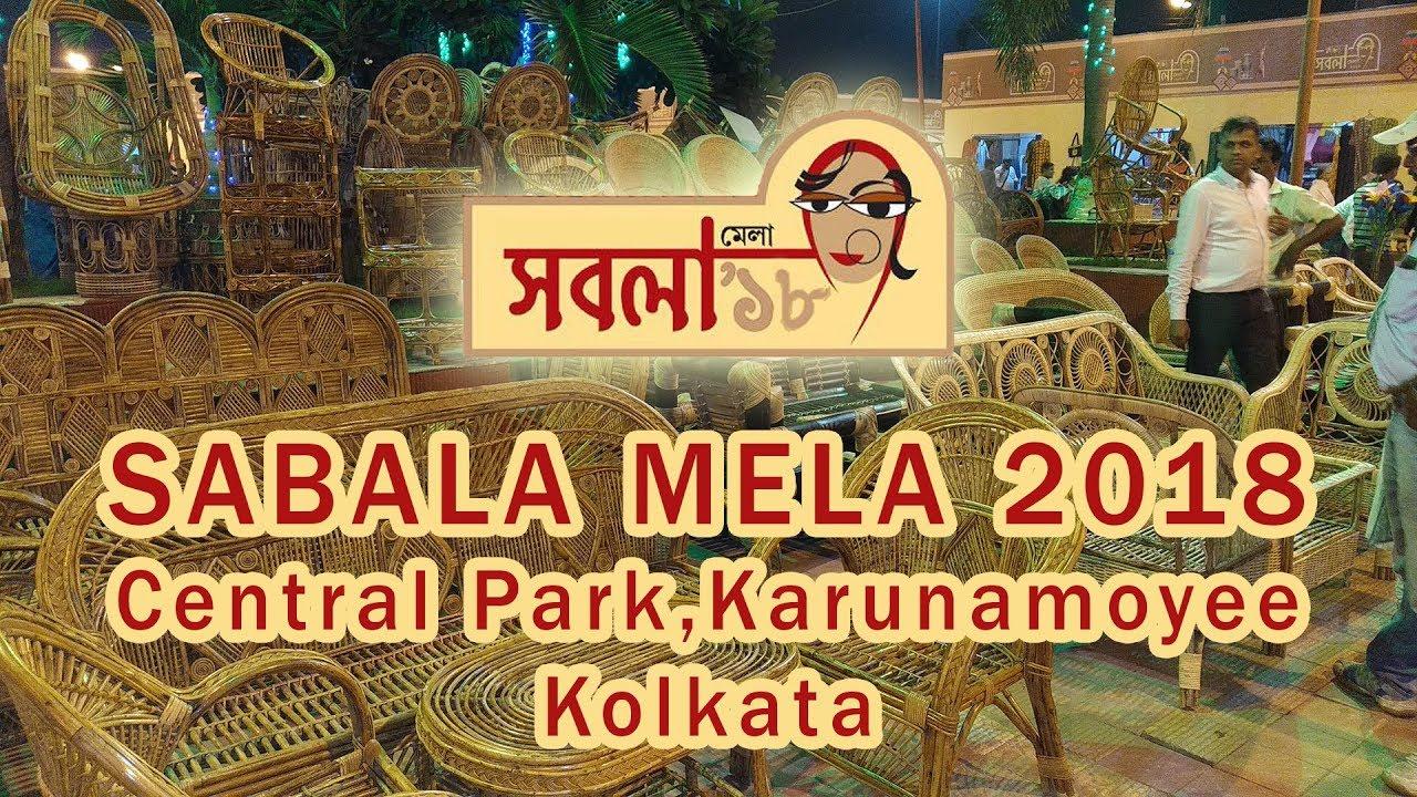Sabala Mela 2018 Central Park Karunamoyee Kolkata Youtube