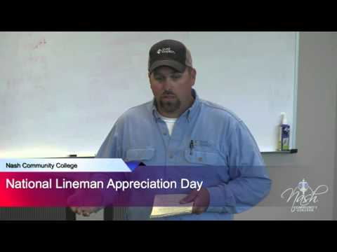 National Linemen Day at Nash Community College