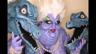 Ursula Makeup Transformation