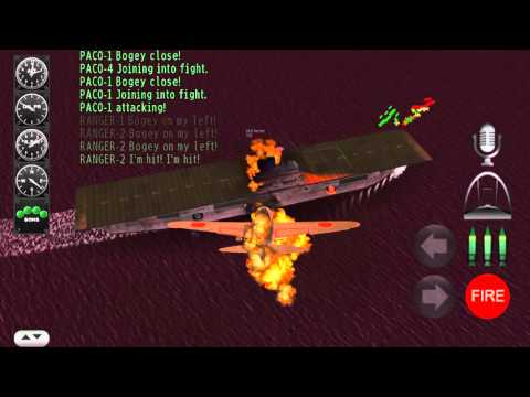 Pacific Navy Fighter: Commander Edition gameplay