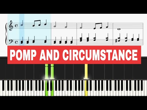 pomp and circumstance easy piano pdf
