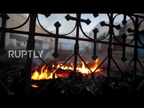 Tunisia: Protesters hurl fireworks in continued clashes over border trade with Libya