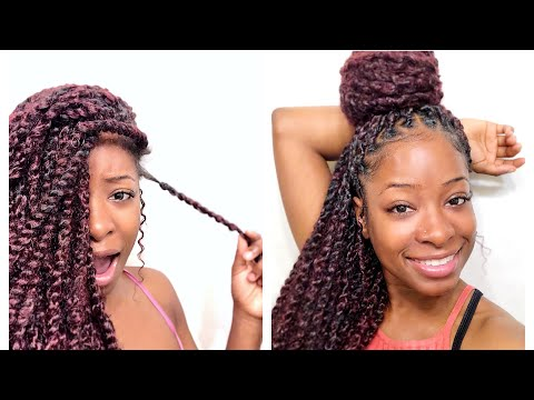 3 WEEKS UPDATE (FAST HAIR GROWTH) X HOW TO MAINTAIN GODDESS PASSION TWISTS