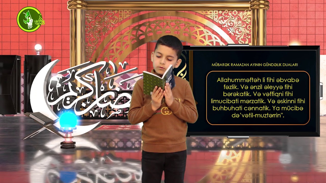 Mübarək #Ramazan2020 ayının 22-ci gününün – #DUASI Zeynəb&Mehdi