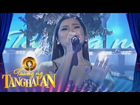 "Tawag ng Tanghalan: Eumee sings ""Kahit Sandali"""